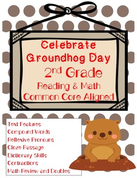 Celebrate Groundhog Day Common Core Reading and ELA Skills