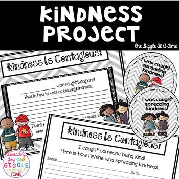 Celebrate Kindness Classroom Project