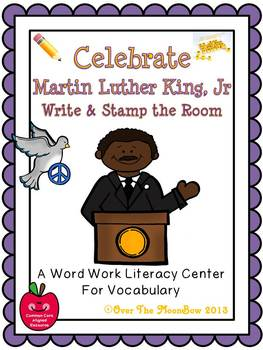 Celebrate Martin Luther King, Jr. Write / Stamp the Room A