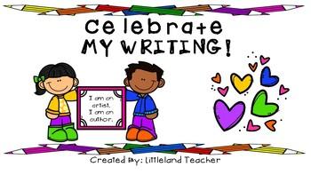 Celebrate My Writing!