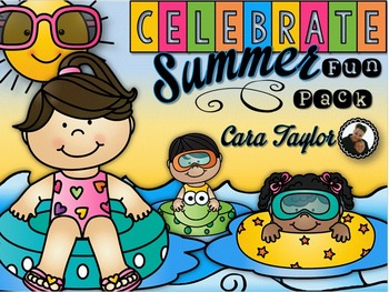 Celebrate Summer Fun Pack ~ Print and Go Printables, Art,