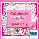 Celebrate Valentine's Day - February Activities for 2nd, 3