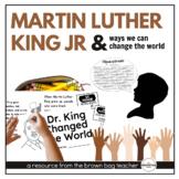 Martin Luther King Jr: Celebrating His Dream {Craftivity,