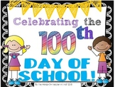 Celebrating the 100th Day for Big Kids! Research and Writing