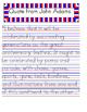 Celebrating the 4th of July Handwriting Worksheet Manuscri