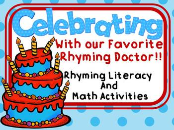 Celebrating with the Rhyming Doctor Rhyming Literacy and M