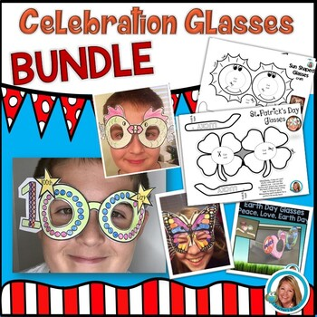 Fun Glasses BUNDLE Printables