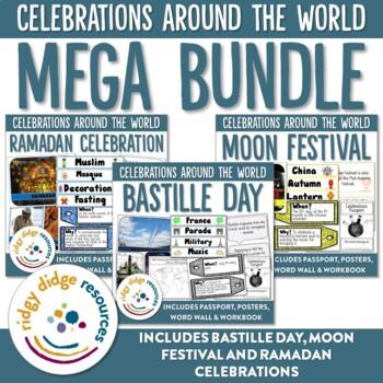 Celebrations Mega Bundle 2 - Ramadan, Moon Festival, Bastille Day
