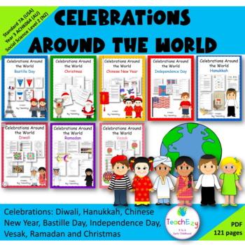 Celebrations around the World by TeachEzy