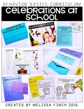 Celebrations at School- Behavior Basics Program for Specia