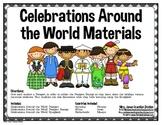 Celebrations/Holidays Around the World Materials