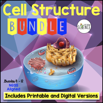 Cells Bundle PowerPoint Notes Labs Task Cards Crossword Re