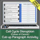Cell Cycle Disruption (Cause of Cancer) Cut-up Paragraph Activity