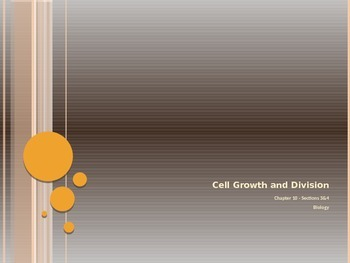 Cell Growth and Division - Regulating Cell Cycle & Differe