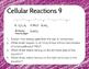 Cellular Processes Warm Up or Exit Ticket Digital Task Card Set