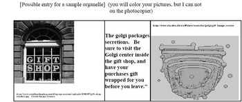 Cell Modeling: Travel Brochure for A Cell or Cell Musical