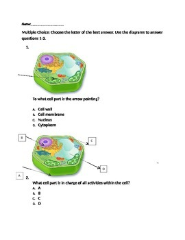 Cell Parts Assessment
