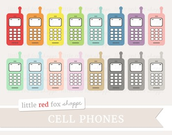 Cell Phone Clipart; Telephone