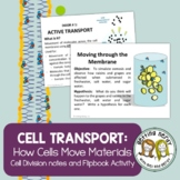 Cells - Osmosis and Moving Cellular Materials - PowerPoint