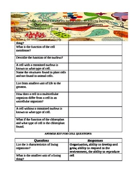 Cell Review Handout