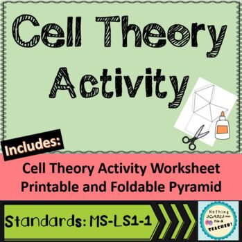 Cell Theory Pyramid Foldable