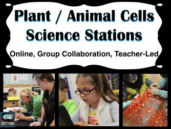 Cell differences Science stations (online, group collabora