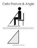 Cello Posture Diagram
