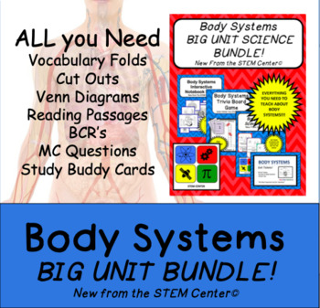 Body Systems: BIG UNIT BUNDLE