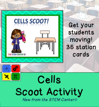 Cells Scoot Activity Game