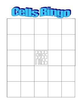 Cells Bingo
