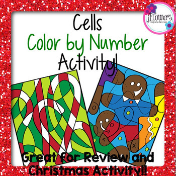 Cells Color by Number Activity! Great for Review and Chris