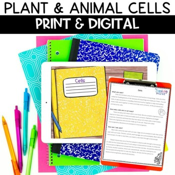 Plant and Animal Cells Google Drive Nonfiction Article and