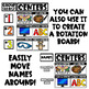 Center Clip Chart Signs