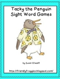 Literacy Center Game - Tacky the Penguin Sight Word Games-