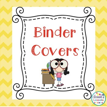 Center Labels & Binder Dividers & Subject Title Pages