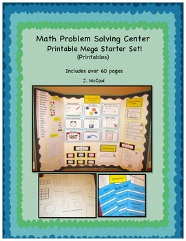 Math Center -  Starter Pack, K-3