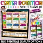 Center Rotation Bulletin Board {Melonheadz Edition}