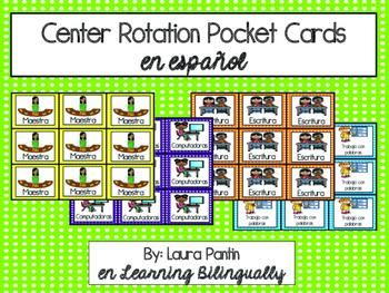 Center Rotation Cards