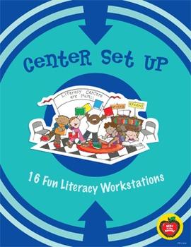 Center Set Up: 16 Fun Literacy Workstations