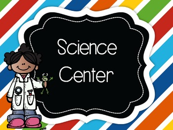 Center Signs, EIGHT designs. EDITABLE TOO! Posters & Small
