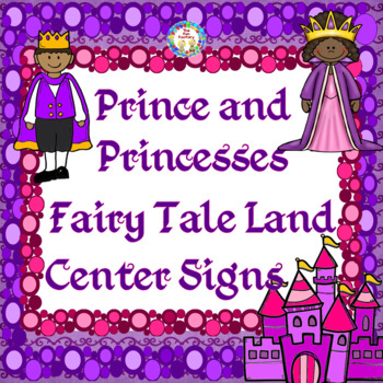Center Signs & Management, Room Decor~Prince and Princesse
