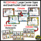 Center Signs ~ Station Signs (Super Hero) ~ EDITABLE