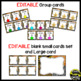 Center Signs ~ Station Signs (Wild About Learning, Jungle/