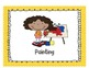 Center Signs (Yellow Polka Dot Theme)