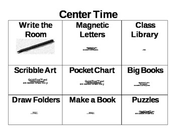 Center Time Chart