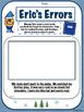 Center Worksheets - Eric's Errors