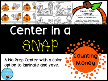Center in a Snap: Counting Money