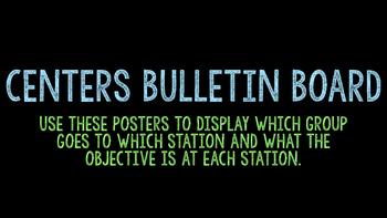 Centers Bulletin Board