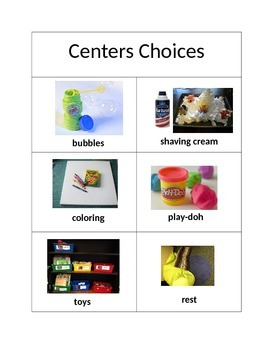 Centers Choices