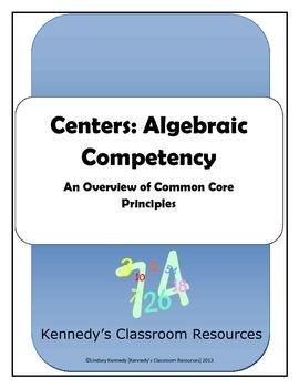 Centers: Practice your Algebra Skills